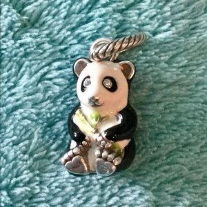 Brighton panda bear charm